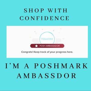 Hooray, I'm a Poshmark Ambassador!!😊